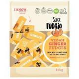 Caramele cu Aroma de Ghimbir Bio 150 grame Super Fudgio Cod: 5907713371180