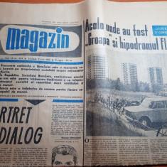 Magazin 3 iulie 1965-articol si foto cartierul floreasca bucuresti