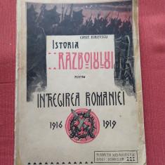 Constantin kIritescu - Istoria razboiului pentru intregirea Romaniei 1916-1919