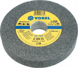 Disc abraziv pentru polizor de banc 150 x 12 x 15 mm Vorel 08865
