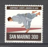 San Marino.1981 C.E. de judo juniori  SS.32