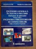 Inginerie generala in textile-pielarie. Indrumar de laborator (part. II) - Liliana Lutic, Mariana Ursache