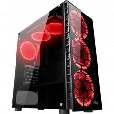 Sistem desktop ITGalaxy ProImage Intel Core i7-6700K Quad Core 4 GHz 32GB RAM DDR4 AMD Radeon RX 570 8GB DDR5 256bit SSD 480GB + HDD 1TB Free DOS