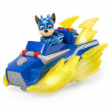 Vehicul cu figurina Chase Patrula Catelusilor cu sunete si lumini, Spin Master