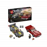 LEGO Speed Champions Chevrolet Corvette C8.R si 1968 Chevrolet Corvette 76903