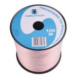 CABLU DIFUZOR CCA 2X6.00MM TRANSPARENT 100M EuroGoods Quality