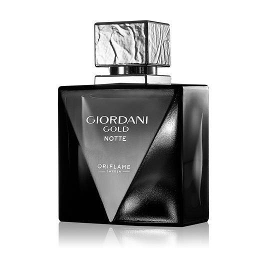 Parfum Barbati - Giordani Gold Notte - 75 ml - Oriflame - Nou, Sigilat