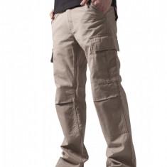 Pantaloni camuflaj barbati Urban Classics 32 EU, Bej