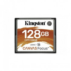 Compact flash card kingston canvas focus 128gb r/w speed: up