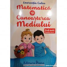 Matematica si cunoasteea mediului 3-4 ani