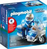 Playmobil City Action, Motocicleta politiei cu led