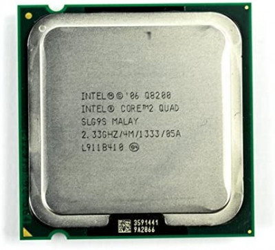 Procesor PC Intel Core 2 Quad Q8200 SLG9S 2.33Ghz LGA775 foto
