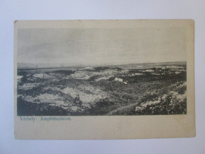 Rara! Carte postala necirculata Sarmizegetusa(Ulpia Traiana),aprox.1880 foto