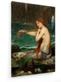 Cumpara ieftin Tablou pe panza (canvas) - John William Waterhouse, A Mermaid - painting 1900