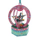 Ornament de brad Craciun Santoro Baubles Pinguni
