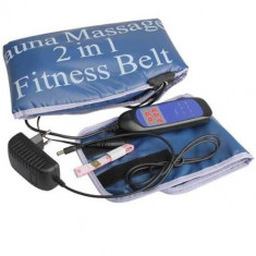 Centura masaj Sauna Massage 2 in 1 Fitness Belt
