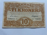 Danemarca-10 Kroner (Coroane)-1944