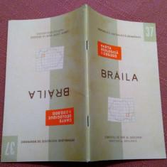 Braila. Nota explicativa  Institutul Geologic, 1968 - Nu contine harta