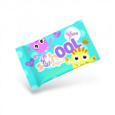 Servetele umede antibacteriene Silky School Wipes pentru copii 15 buc./pachet