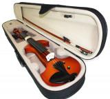 Cumpara ieftin Vioara electro-acustica 6 corzi Cherrystone E-Violin set