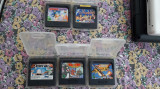 CASETA SEGA , 4 BUCATI ,TOM AND JERRY,ALADDIN,SONIC THE HEDGEHOG,OLIMPIC GOLD