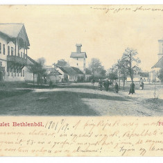 98 - BECLEAN, Bistrita-Nasaud, Market, Litho - old postcard - used - 1901, Circulata, Printata