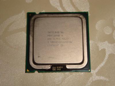 Procesor intel pentium 4 651 3.4Ghz FSB800 LGA775 SL9KE - de colectie foto