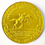 MEDALIE SARJA DE LA ROBANESTI DOLJ 70 DE ANI STATUL ROMAN FILATELIE CRAIOVA 1998