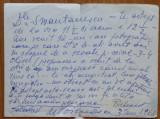 Scrisoare a actritei si regizoarei Marioara Voiculescu catre Smantanescu , 1968