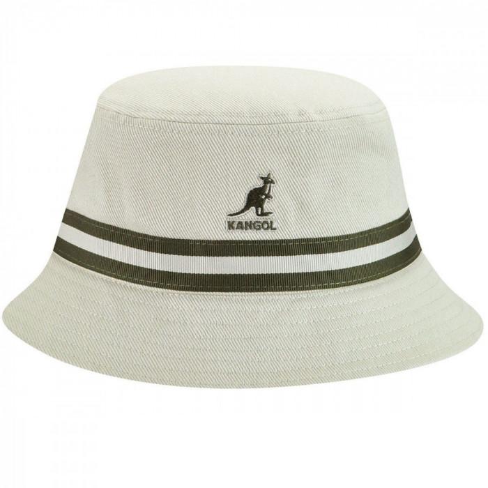 Palarie Kangol Stripe Lahinch Bej (Masura : S,M) - Cod 246