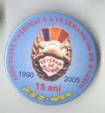 Insigna MILITARA - Asociatia Veteranilor de razboi 1990-2005