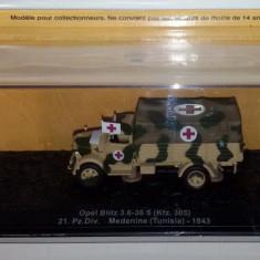 Macheta  Opel Blitz 3.6-36s Medenine Tunisia 1943 scara 1:72