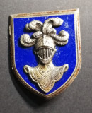 Insigna Regimentala Școala de Cavalerie Franța Drago H 603