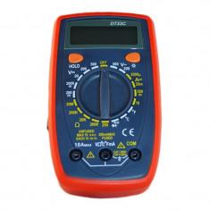Multimetru digital DT33C, memorie date, masurare dioda