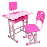 Birou pentru copii cu scaunel Roz