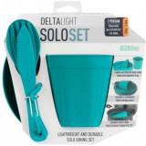 Set vase camping Sea To Summit DeltaLight Camp Set 1.1 - cana, bol si tacamuri Pacific Blue OutsideGear Venture