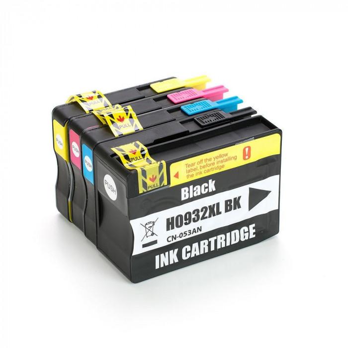 Set Cartuse Cerneala Compatibile HP 932XL 933XL - (BK + C+ M + Y)