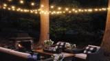 Cumpara ieftin Ghirlanda Luminoasa de Exterior, lungime 35m, cu 3Bec/m, Glob Opac