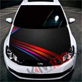 """Sticker Imprimat Color pentru Capota """"Hood Art"""" cod: KM-HOOD-232"""