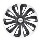 """Set 4 bucati capace roti 15"""" Caliber silver black Michelin pmich15008"""