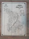 Harta judetului Tutova  1908