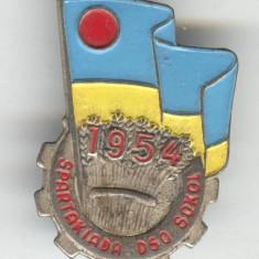 Insigna Spartachiada - SOKOL 1954 - SUPERBA