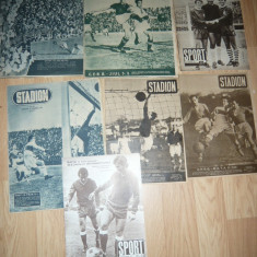 Lot 4 Reviste Stadion si Sport anii '48 ,49,69 ,73 -Echipa CFRB si Rapid