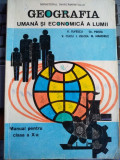 Geografia umană și economică a lumii Manual pentru clasa a X-a