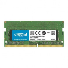 Memorie Laptop Crucial 8GB, DDR4, 3200MHz, CL22, 1.2v