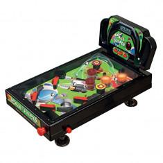 Joc pinball de masa Super Leader Pinball, 67 x 40 x 85 cm, lumini si sunete
