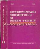 Cumpara ieftin Reprezentari Geometrice Si Desen Tehnic - V. Iancau, V. Barbat, E. Zetea