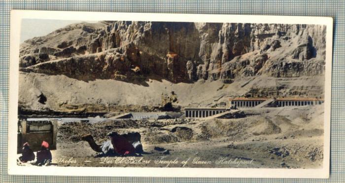 AD 593 C. P. VECHE - THEBES - DER EL BAHARI TEMPLE OF QUEEN HATSHEPSUT -EGYPT