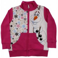 Hanorac Olaf Disney, Roz/Alb, pentru fetite