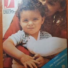 Revista femeia iunie 1986-festivalul national catarea romaniei